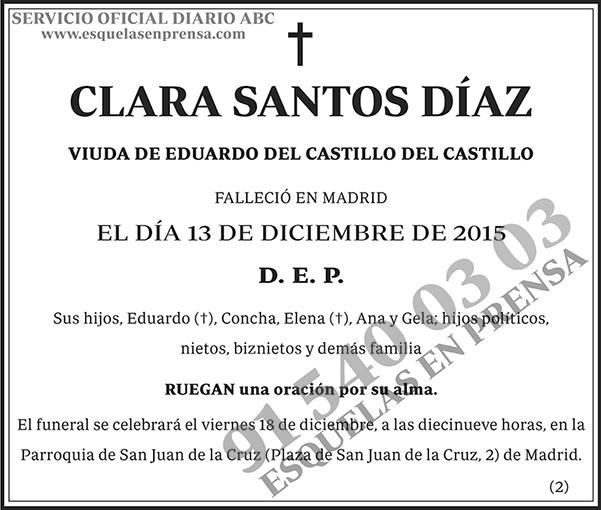 Clara Santos Díaz